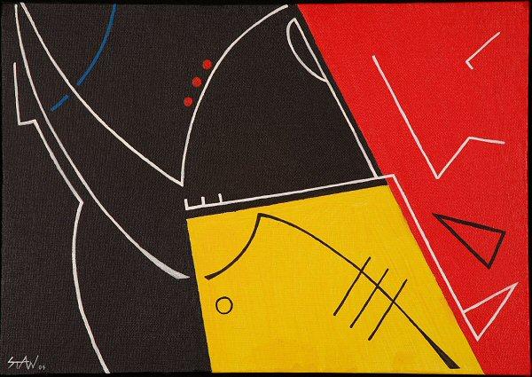 2004 - acrylique sur carton entoilé - 27x19 cm